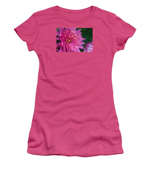 Heart Of A Mum Women's T-Shirt (Junior Cut) by Jim Gillen