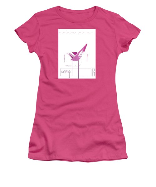Heels Women's T-Shirt (Athletic Fit)