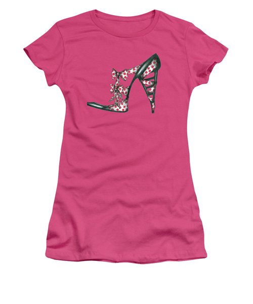 Her Shoe  Women's T-Shirt (Athletic Fit)
