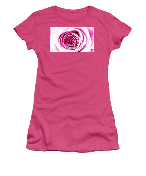 Hypnotic Pink Women's T-Shirt (Athletic Fit)