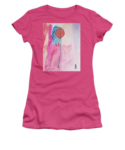 Indian Flower Women's T-Shirt (Athletic Fit)