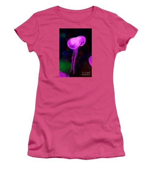 Jellies Women's T-Shirt (Junior Cut) by Gary Bridger