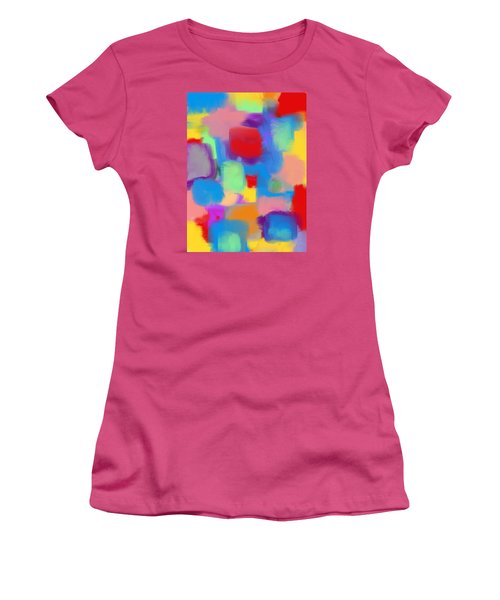 Juicy Shapes And Colors Women's T-Shirt (Junior Cut) by Susan Stone