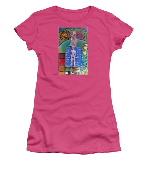 Lavender Herbal Tincture Women's T-Shirt (Junior Cut) by Clarity Artists