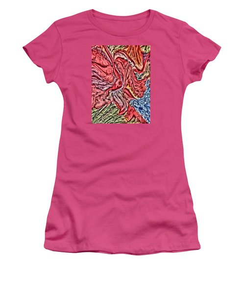 Leaves And Grapes Women's T-Shirt (Junior Cut) by Vickie G Buccini