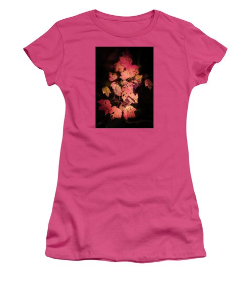 Leaves Of Surrender Women's T-Shirt (Junior Cut) by Karen Wiles