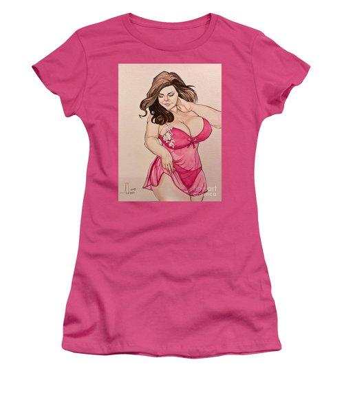 Lisa Marie Women's T-Shirt (Junior Cut) by Jimmy Adams