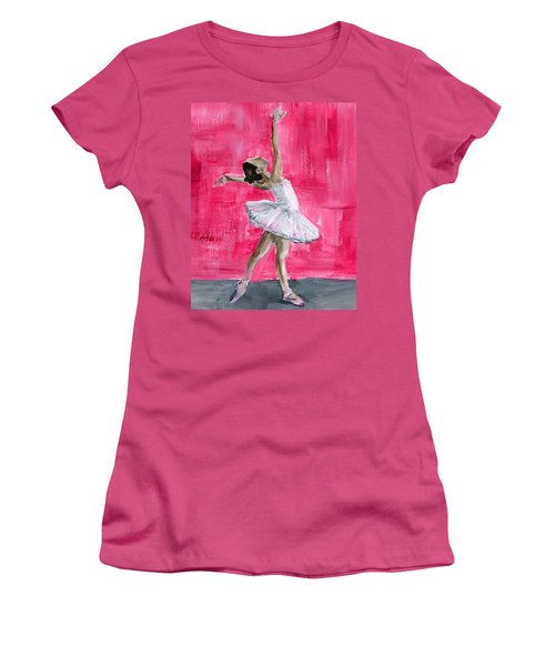 Little Ballerina Women's T-Shirt (Athletic Fit)