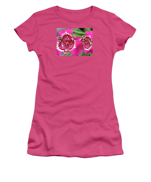 Mexican Shell Flower 1 Women's T-Shirt (Athletic Fit)