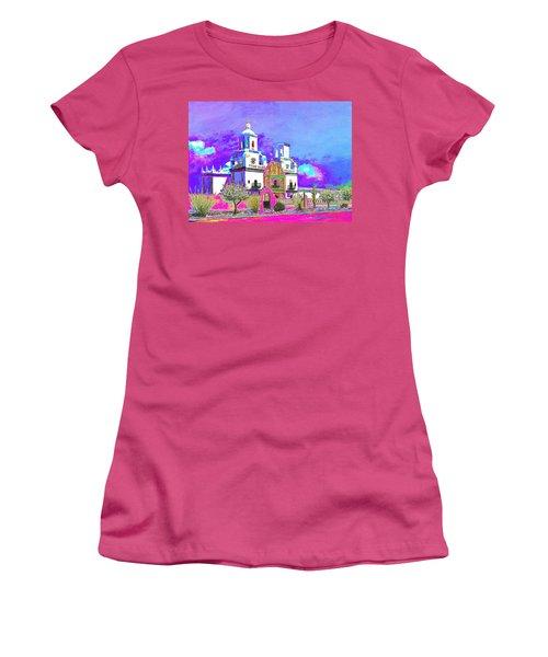 Mission Abstract 3 Women's T-Shirt (Junior Cut) by M Diane Bonaparte