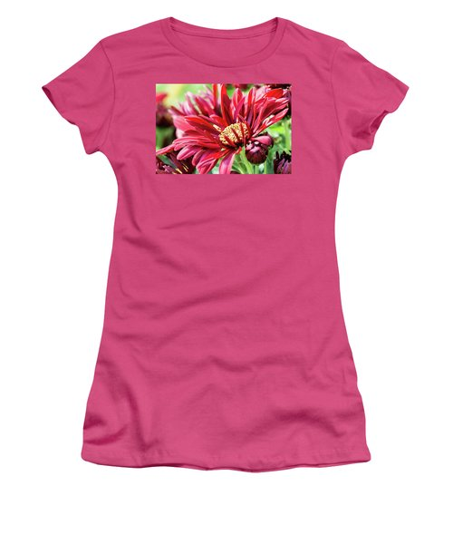 Mum's The Word IIi Women's T-Shirt (Athletic Fit)