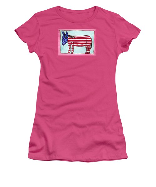 My Donkey Women's T-Shirt (Athletic Fit)