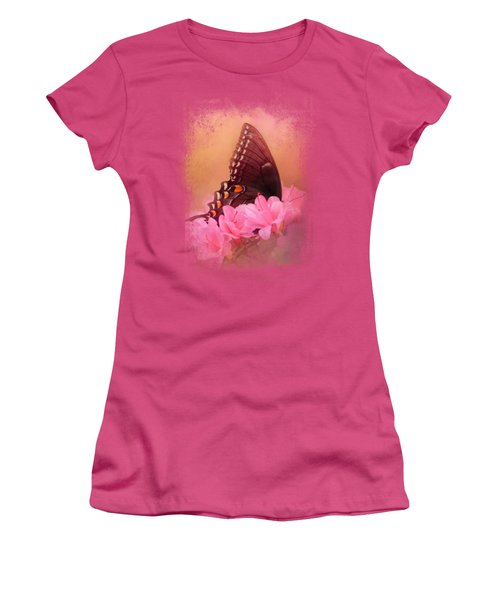 Napping In The Azaleas Women's T-Shirt (Athletic Fit)