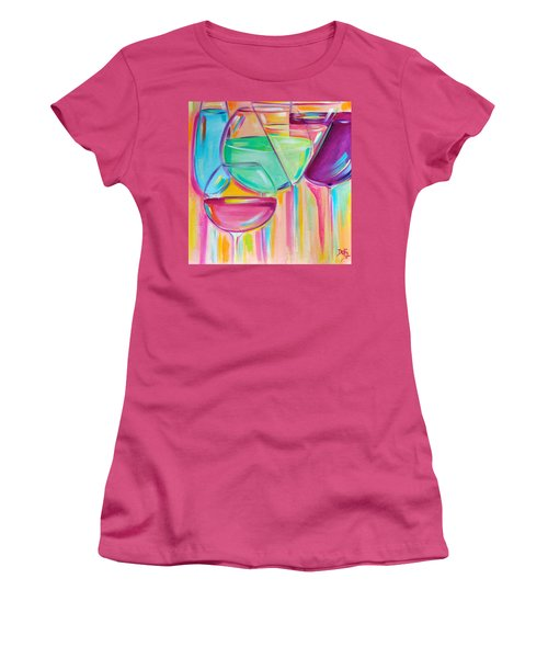 Nice Stems Women's T-Shirt (Athletic Fit)