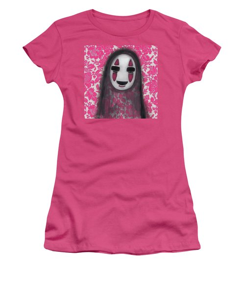 No Face  Women's T-Shirt (Junior Cut) by Abril Andrade Griffith