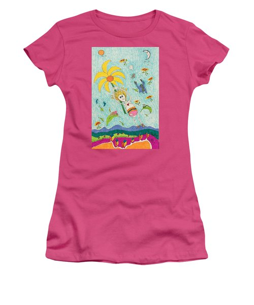 No Longer In Kansas Women's T-Shirt (Athletic Fit)