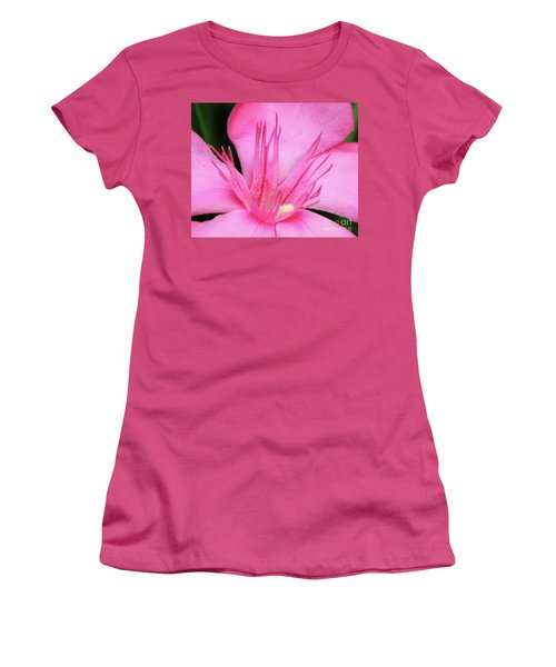 Oleander Professor Parlatore 3 Women's T-Shirt (Junior Cut) by Wilhelm Hufnagl
