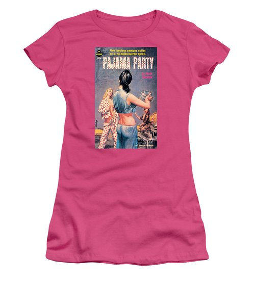 Pajama Party Women's T-Shirt (Junior Cut) by Paul Rader