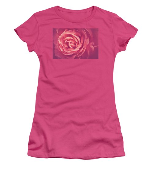 Blooms And Petals Women's T-Shirt (Athletic Fit)