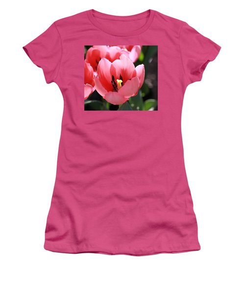 Pink Bloom Women's T-Shirt (Athletic Fit)