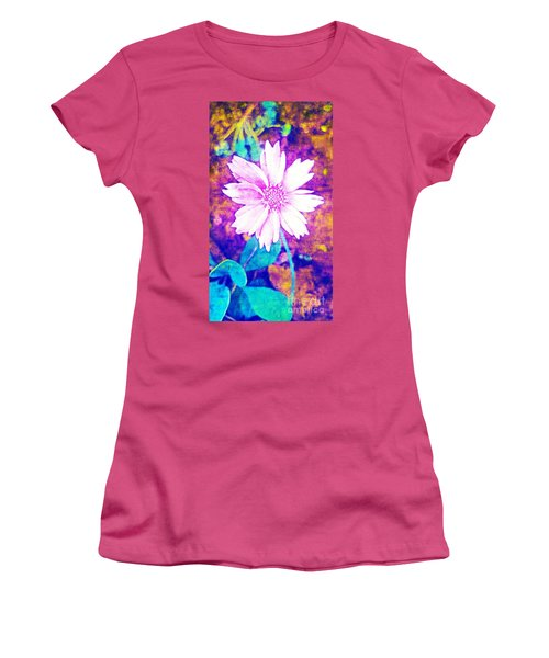 Pink Bloom Women's T-Shirt (Junior Cut)