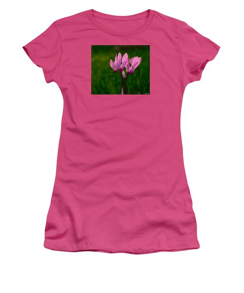 Pink Light Women's T-Shirt (Athletic Fit)