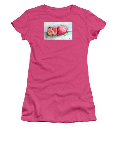 Pomegranates Women's T-Shirt (Athletic Fit)