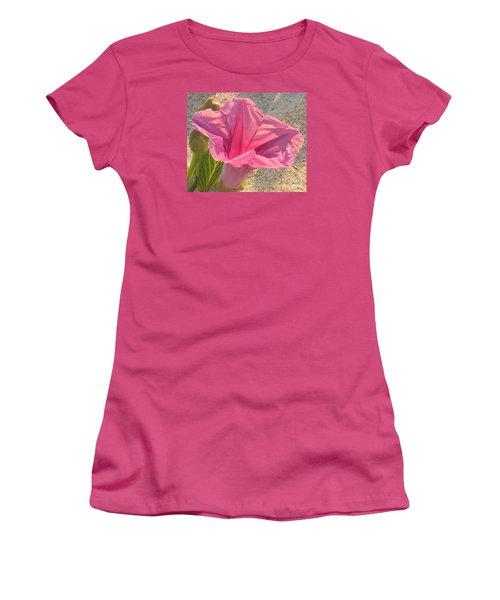 Pretty In Pink Women's T-Shirt (Junior Cut) by LeeAnn Kendall