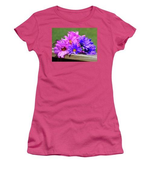 Rainbow Mums 2 Of 5 Women's T-Shirt (Junior Cut) by Tina M Wenger