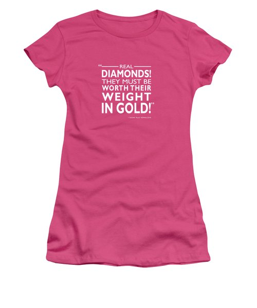 Real Diamonds Women's T-Shirt (Athletic Fit)