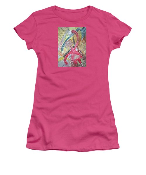 Relax. Dance Women's T-Shirt (Athletic Fit)