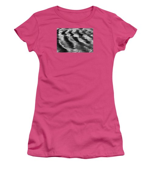 Ripples In The Sand Women's T-Shirt (Junior Cut) by Gary Bridger
