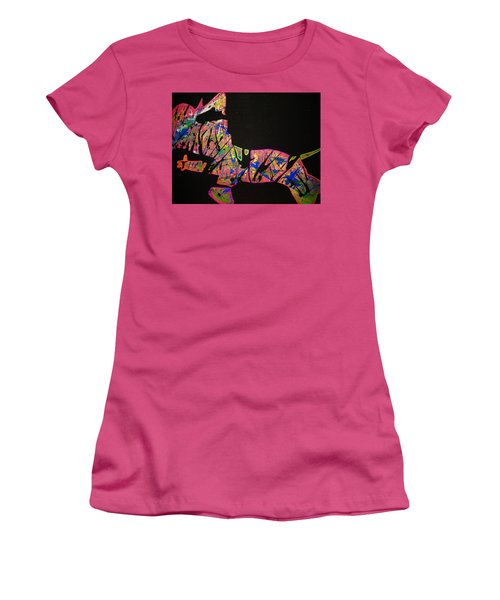 Rockstar Women's T-Shirt (Athletic Fit)