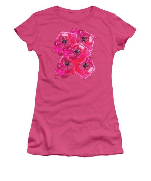 Rose Abundance Women's T-Shirt (Athletic Fit)
