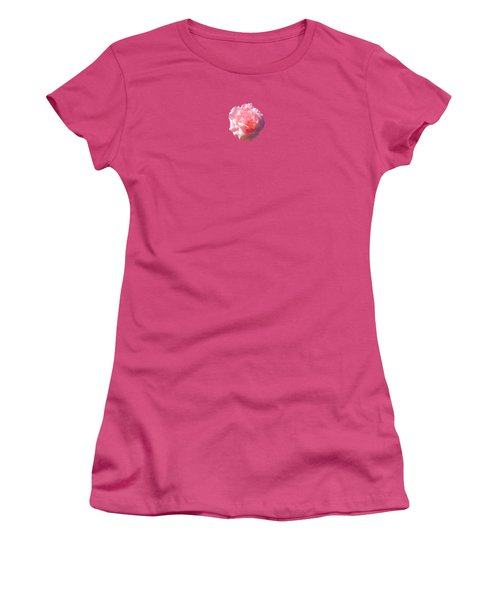 Women's T-Shirt (Junior Cut) featuring the photograph Rose Rose by Marc Philippe Joly