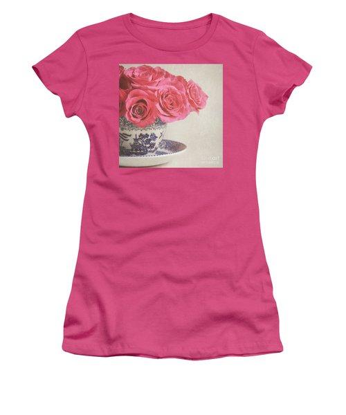 Rose Tea Women's T-Shirt (Athletic Fit)
