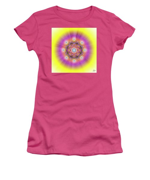 Sacred Geometry 643 Women's T-Shirt (Junior Cut) by Endre Balogh
