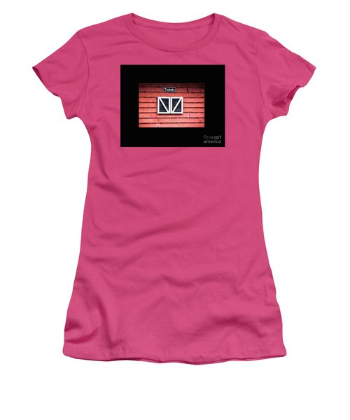 Season's Over Women's T-Shirt (Junior Cut) by Laurinda Bowling