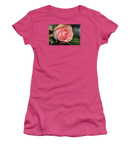 Women's T-Shirt (Junior Cut) featuring the photograph Sentimentality by Diana Mary Sharpton