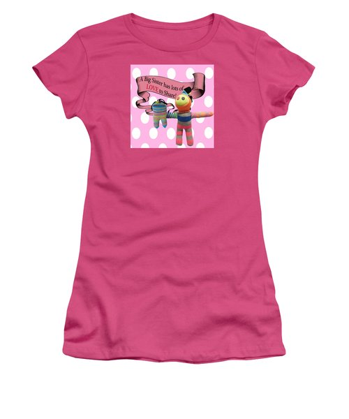 Sister Love Women's T-Shirt (Athletic Fit)