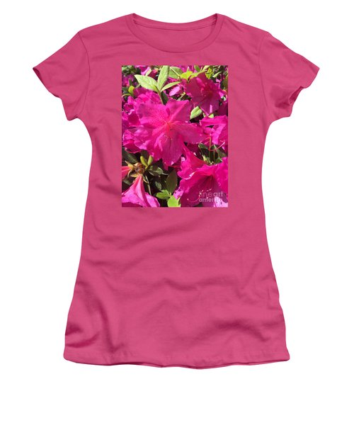 Southern Pink Women's T-Shirt (Athletic Fit)