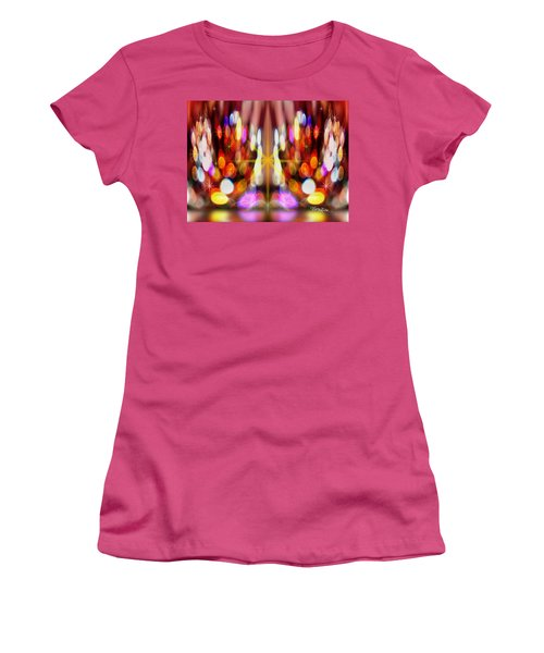 Sparkles #8885_2 Women's T-Shirt (Athletic Fit)
