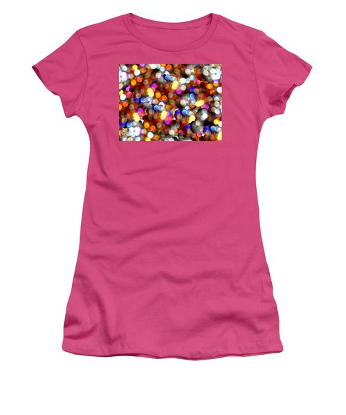 Sparkles #8885_4 Women's T-Shirt (Athletic Fit)