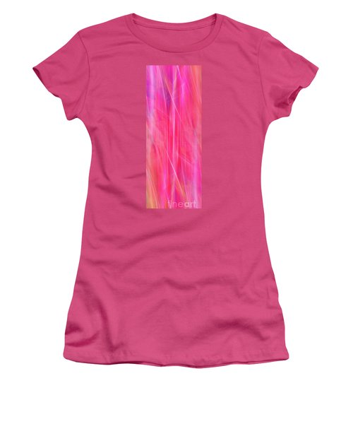 Women's T-Shirt (Junior Cut) featuring the photograph Spider Lily Mix by Cheryl McClure