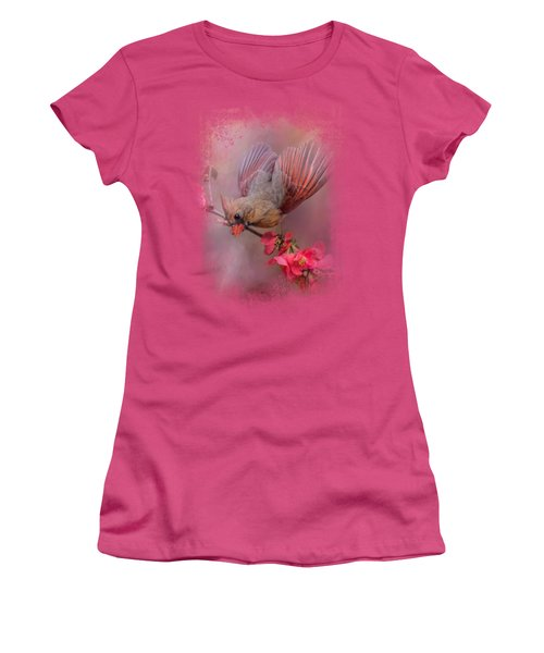 Spring Cardinal 2 Women's T-Shirt (Athletic Fit)