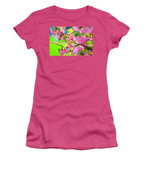Spring Glory Women's T-Shirt (Athletic Fit)