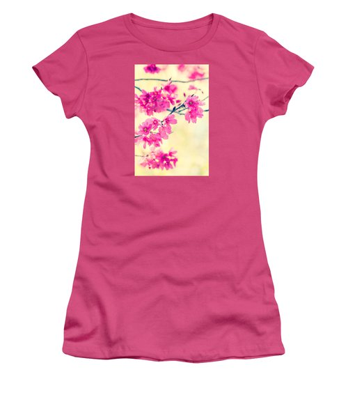 Women's T-Shirt (Athletic Fit) featuring the photograph Spring Magic by Julie Andel