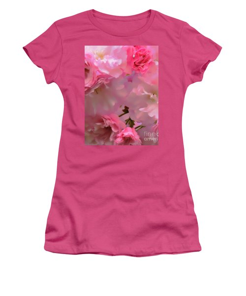 Spring With A Cherry On Top Women's T-Shirt (Athletic Fit)