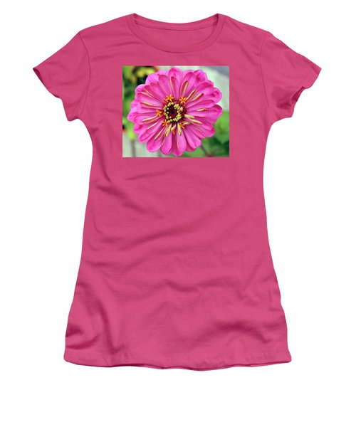 State Fair Zinnia Women's T-Shirt (Athletic Fit)