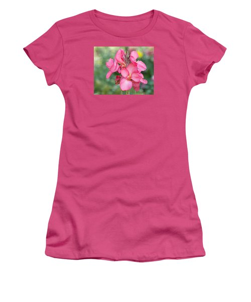 Women's T-Shirt (Athletic Fit) featuring the photograph Summer In Color  by Julie Andel